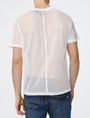 ARMANI EXCHANGE Mesh-Back V-Neck Short Sleeve Tee U r