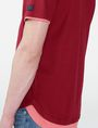 ARMANI EXCHANGE Two-Layer Shirttail Polo SHORT SLEEVES POLO Man e