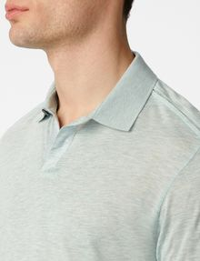 ARMANI EXCHANGE Seam Detail Polo Short-sleeved polo U e