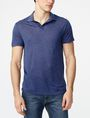 ARMANI EXCHANGE Seam Detail Polo SHORT SLEEVES POLO Man f