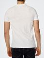 ARMANI EXCHANGE Hibiscus Logo Crew Graphic T-shirt Man r