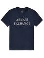 ARMANI EXCHANGE Beachy Basic Logo Tee Graphic Tee U d