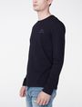 ARMANI EXCHANGE Long-Sleeve Layering Crew Short Sleeve Tee U d