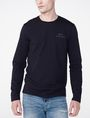 ARMANI EXCHANGE Long-Sleeve Layering Crew Short Sleeve Tee U f