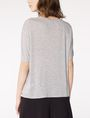 ARMANI EXCHANGE Pleated Short-Sleeve Dolman Top Blouse D r