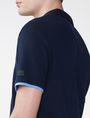 ARMANI EXCHANGE Two-Layer Shirttail Polo Short-sleeved polo U e