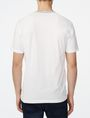 ARMANI EXCHANGE Graphic Trim Henley Short Sleeve Tee Man r