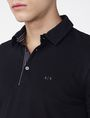 ARMANI EXCHANGE Contrast Placket Pique Polo Short-sleeved polo U e