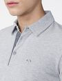 ARMANI EXCHANGE Contrast Placket Pique Polo SHORT SLEEVES POLO Man e