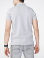 ARMANI EXCHANGE Contrast Placket Pique Polo SHORT SLEEVES POLO Man r