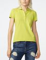 ARMANI EXCHANGE Pique Logo Polo SHORT SLEEVES POLO Woman f