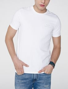 ARMANI EXCHANGE Signature A|X Crew Short Sleeve Tee U f