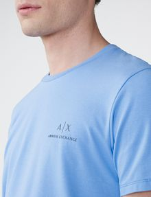 ARMANI EXCHANGE Signature A|X Crew Short Sleeve Tee Man e