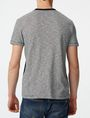 ARMANI EXCHANGE Pattern Block Stripe Crew Short Sleeve Tee U r