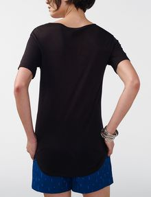 ARMANI EXCHANGE Shirttail Tee Blouse [*** pickupInStoreShipping_info ***] r