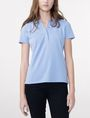 ARMANI EXCHANGE Pique Logo Polo Short-sleeved polo D f