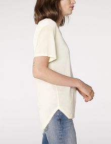 ARMANI EXCHANGE Shirttail Tee Blouse D d