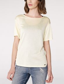 ARMANI EXCHANGE Shirttail Tee Blouse D f