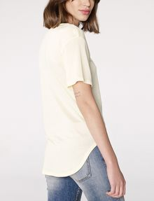 ARMANI EXCHANGE Shirttail Tee Blouse D r