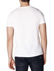 ARMANI EXCHANGE Liquid Bleed Logo Tee Graphic Tee U r