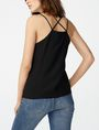 ARMANI EXCHANGE Crisscross Strap Cami Cami Woman r