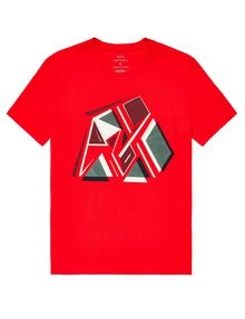 ARMANI EXCHANGE Retro Fragment Tee Graphic T-shirt U d
