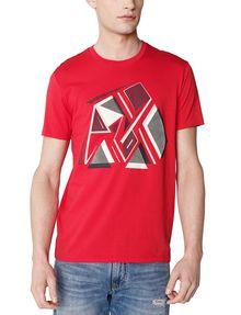 ARMANI EXCHANGE Retro Fragment Tee Graphic T-shirt U f