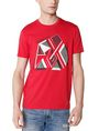 ARMANI EXCHANGE Retro Fragment Tee Graphic Tee U f