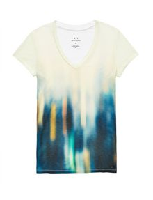 ARMANI EXCHANGE Urban Lights Tee Graphic Tee D d