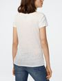 ARMANI EXCHANGE Organic Block Print Tee Short Sleeve Tee Woman r
