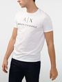 ARMANI EXCHANGE Classic Logo Crewneck Tee Graphic T-shirt U f