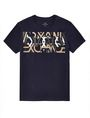 ARMANI EXCHANGE Abstract Overlay Tee Graphic Tee U d