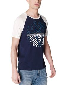 ARMANI EXCHANGE Reversal Raglan Tee Graphic T-shirt Man f