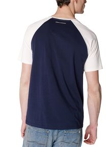 ARMANI EXCHANGE Reversal Raglan Tee Graphic T-shirt Man r