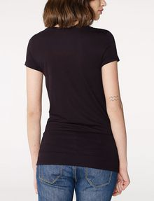 ARMANI EXCHANGE Scoopneck Logo Script Tee Short Sleeve Tee [*** pickupInStoreShipping_info ***] r