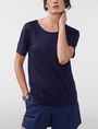 ARMANI EXCHANGE Shirttail Tee Blouse Woman f