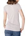ARMANI EXCHANGE Foil Triangle Tee Short Sleeve Tee Woman r