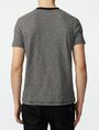 ARMANI EXCHANGE Pattern Block Stripe Crew Short Sleeve Tee Man r