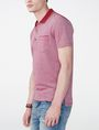 ARMANI EXCHANGE Bicolor Pique Pocket Polo SHORT SLEEVES POLO Man d