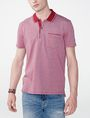 ARMANI EXCHANGE Bicolor Pique Pocket Polo SHORT SLEEVES POLO Man f