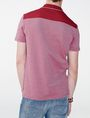 ARMANI EXCHANGE Bicolor Pique Pocket Polo SHORT SLEEVES POLO Man r
