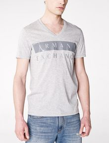 ARMANI EXCHANGE Back To Basics Logo Tee Graphic T-shirt U f