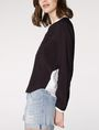 ARMANI EXCHANGE Layered Colorblock Popover Blouse D d
