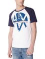 ARMANI EXCHANGE Reversal Raglan Tee Graphic T-shirt U f