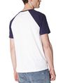 ARMANI EXCHANGE Reversal Raglan Tee Graphic T-shirt U r