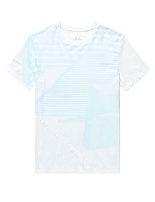 ARMANI EXCHANGE Leveled Edge Tee Graphic Tee U d