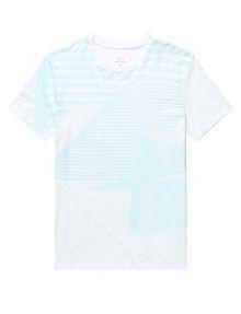 ARMANI EXCHANGE Leveled Edge Tee Graphic T-shirt U d