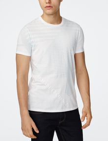 ARMANI EXCHANGE Leveled Edge Tee Graphic Tee U f