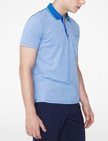 ARMANI EXCHANGE Bicolor Pique Pocket Polo Short-sleeved polo U d