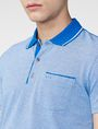 ARMANI EXCHANGE Bicolor Pique Pocket Polo SHORT SLEEVES POLO Man e